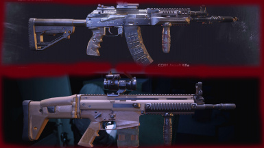 Replacements for CQBR Assault Rifle