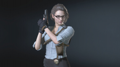 Jill - Concept Art 03 - Teacher Costume