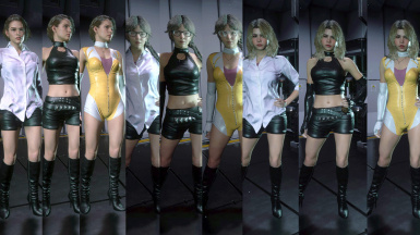 Rebecca Chambers Cosplay - RE0 Concept Art