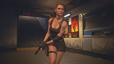 JIll Valentine as Sonya Blade - Recolours Included