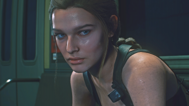 Jill with Long Braid (Two Variations and Physics Included)