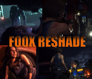F00X Cinematic Reshade (RE3MAKE Edition)