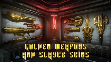 golden weapons and slayer skins
