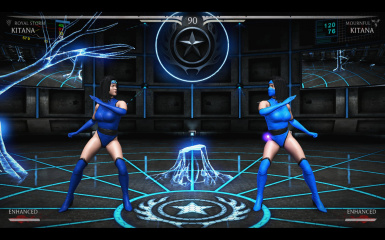 Enhanced Klassic Kitana In-game
