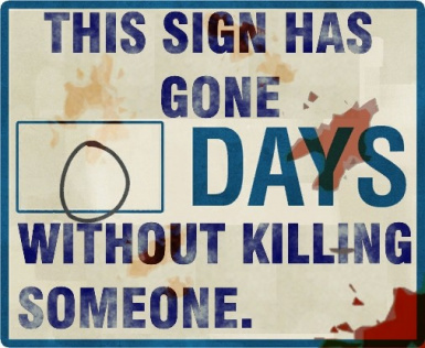 The Murderous Sign
