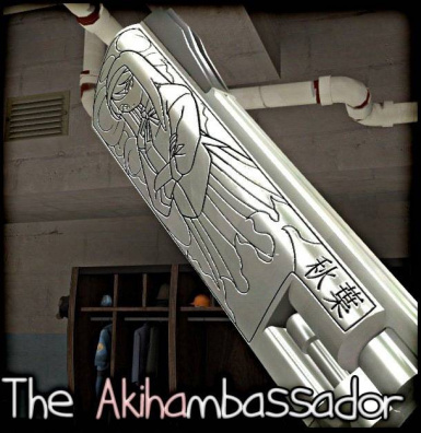 The Akihambassador: Akiha Tohno carving (v1.0)
