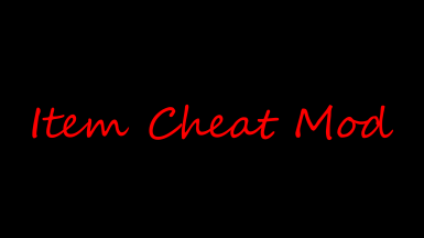 Equipment Cheat Mod