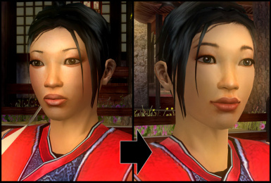 Radiant Jen Zi and Scholar Ling retextures (with bonus Sky)