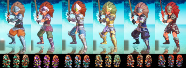 SNES Character Pack
