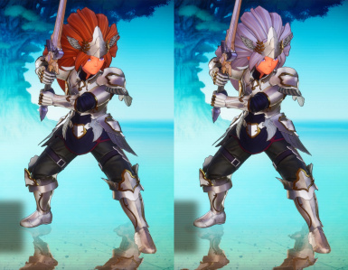 Class4 All Player Character Hair Color Change And Small Adjustment The Costume