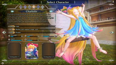 Charlotte Costume Swap (Cleric to Faerie)