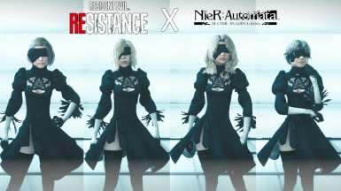 Female YorHa Unit Outfits
