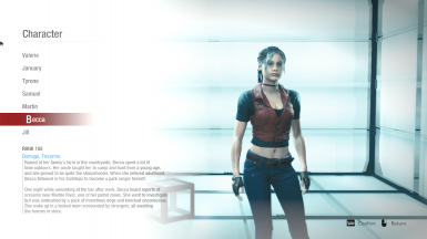 Claire Code Veronica X Outfit