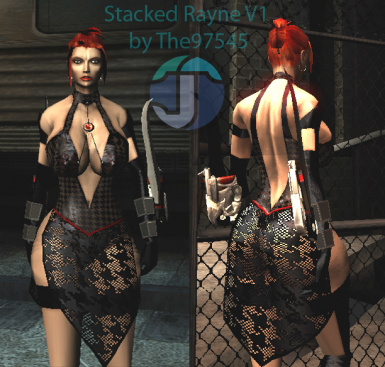Stacked Rayne Dress Mod for BloodRayne 2 Terminal Cut