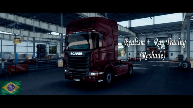 Ets 2 - Realistic and Ray Tracing (Reshade)