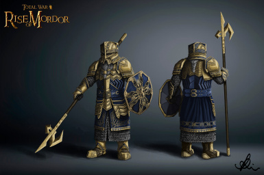 Erebor's Tomb Wardens! An ancient AoR unit available from Mount Gundabad