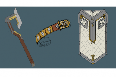 Erebor's Mansion Reclaimers, an elite unit available only from Khazad-Dum! A collaborative concept by Maeron and Edred