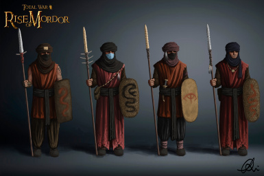 Harad's tier 1, the Desert Spearmen! And wear a mask!