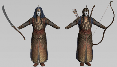 Front - Galadhrim Bow Warriors and Galadhrim Sword Warriors