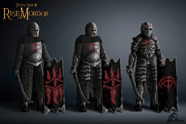 Mordor's most skilled orcs, the Uruk Bodyguard - Concept by Maeron
