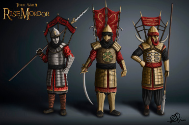 Harad's deadliest cavalry, the Serpent Guard - Concept by Maeron