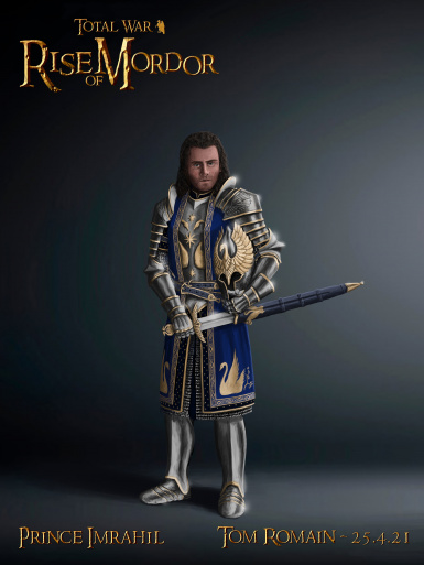 Prince Imrahil general for the knights of the Silver Swan By Maeron