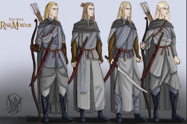 The guardians, sentinels of Lorien, by Edred