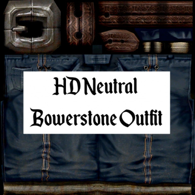 HD Neutral Bowerstone Outfit