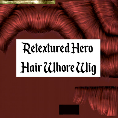 Retextured Hair Whore Wig