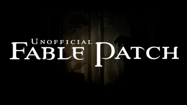 Unofficial Fable Patch