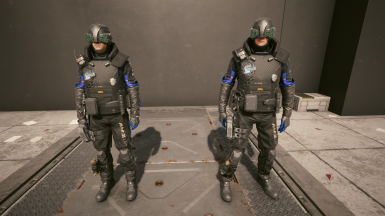 Max Tac Male Officer Option