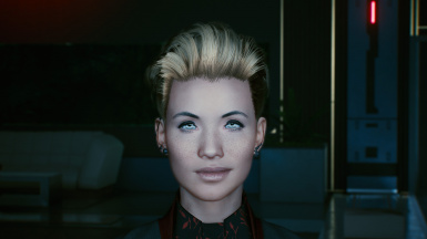 Quiff hairstyle for female V