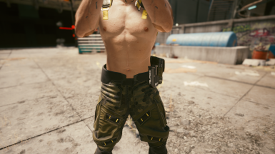 Pants Configuration with Pistol Mag