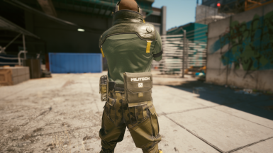 Pants Configuration with Large side Pouch