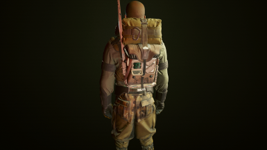 Heavy Tac Vest. Raised Back Pouch and Radiopack