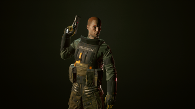 Aramid Body Armor (With Included Rifleman Config)