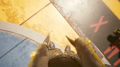 Trench Coat 1st Person Clipping (holstered)