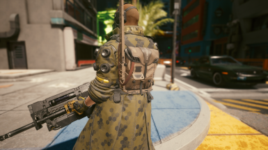 Trench Coat with Radiopack