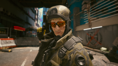 Open Mask and Glasses Yellow (with optional light helmet)