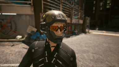 Headset with Glasses and Optional Light Helmet