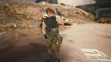 Tactical Tank with Side Pouch (Other options available)