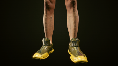 Tactical Shoes Militech 1 (Male only Texture)