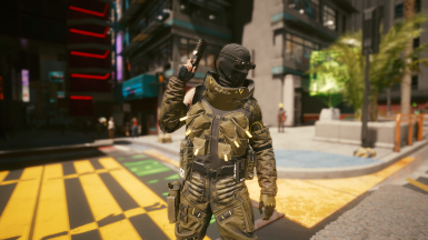 Ranger Goggles and Balaclava (Clipping depends on Jawline)