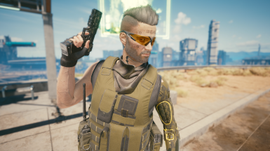Scarf Camo 2 (With glasses)