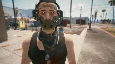 Scarf Camo 1 (With headset)