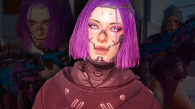 Violet - CyberCAT Preset And Outfit