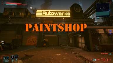 Paint your car at Autowerks