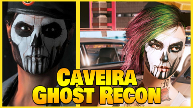 Caveira Ghost Recon