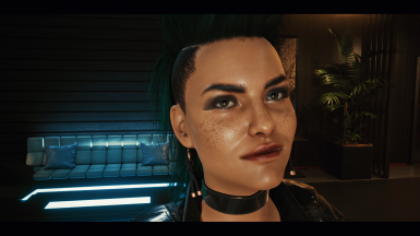 Rogue young 4k - with freckles