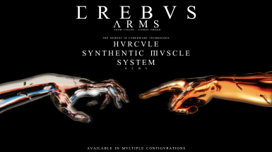 ErebusArms - Hurcule Synthetic Muscle System - Corpo Gorilla arms